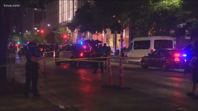 Witness to Austin Black Lives Matter shooting says 'the driver incited the violence'