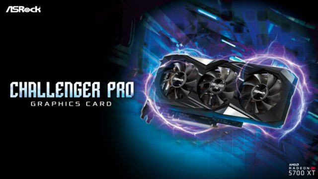 ASRock Releases The Radeon RX 5700 XT Challenger Pro 8G OC With A Triple Fan Cooler And 8GB's Of GDDR6 Memory
