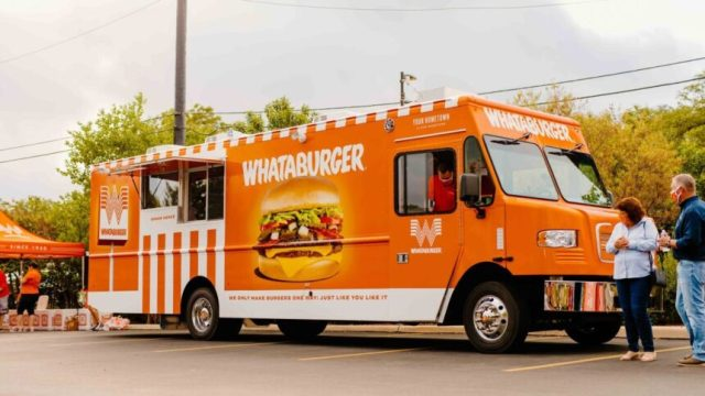 Whataburger unveils new food truck with plans for multi-state tour