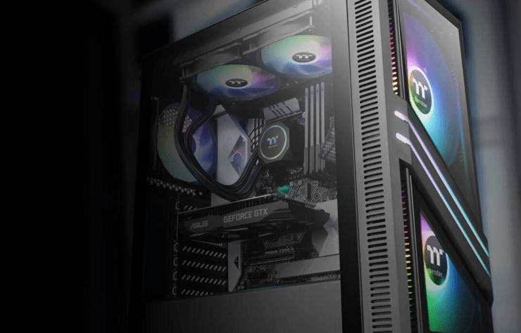 Thermaltake Unveils The theVersa T25 TG/ T35 TG RGB & H330 TG/ H350 TG RGB Mid-Tower Chassis
