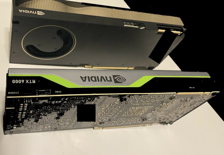 NVIDIA's Next-Gen Quadro RTX (Ampere) Graphics Card Pictured, Features Full GA102 GPU & Blower Styled Cooler Design