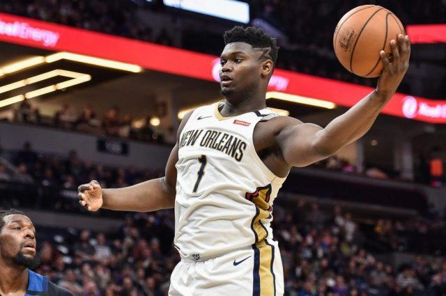 New Orleans Pelicans star forward Zion Williamson