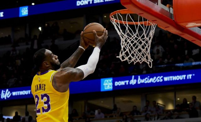 LeBron James #2 Best NBA Players in 2020