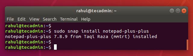How to Install Notepad++ on Ubuntu 18.04
