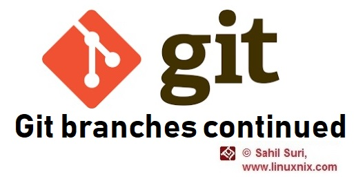 Git branches continued