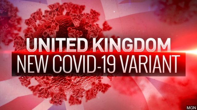 United Kingdom new Covid-19 variant