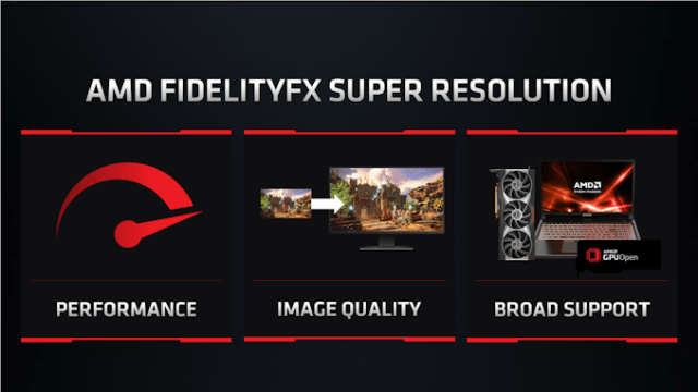 AMD Formally Unveils FidelityFX Super Resolution: Open Source Game Upscaling