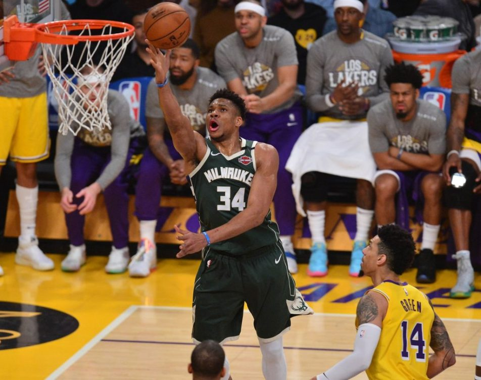 Giannis Antetokounmpo #1 Best NBA Players in 2020