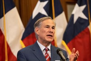 Governor Greg Abbott discusses border security in Fort Worth