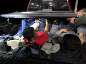 Over 20 migrants found hidden in truck bed and trailer at Sierra Blanca checkpoint