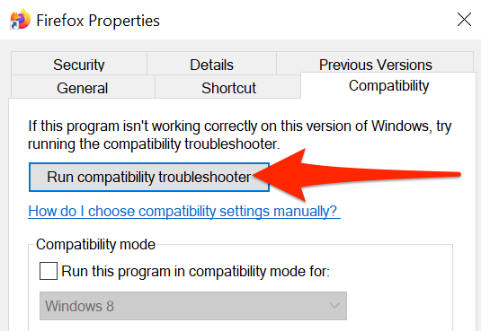 5 run compatibility troubleshooter