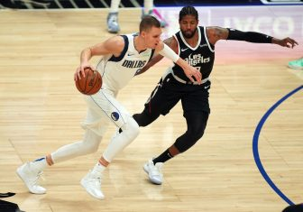 NBA Dallas Mavericks at Los Angeles Clippers 16217078 336x235 25
