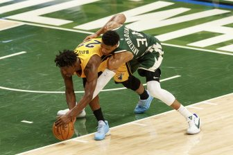 NBA Playoffs Miami Heat at Milwaukee Bucks 16129849 336x224 3