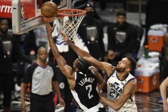 Los Angeles Clippers' Kawhi Leonard may miss rest of series vs. Jazz