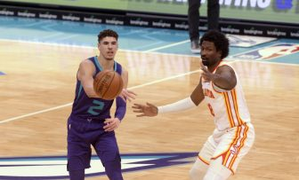 Charlotte Hornets' LaMelo Ball wins 2020-21 NBA Rookie of the Year