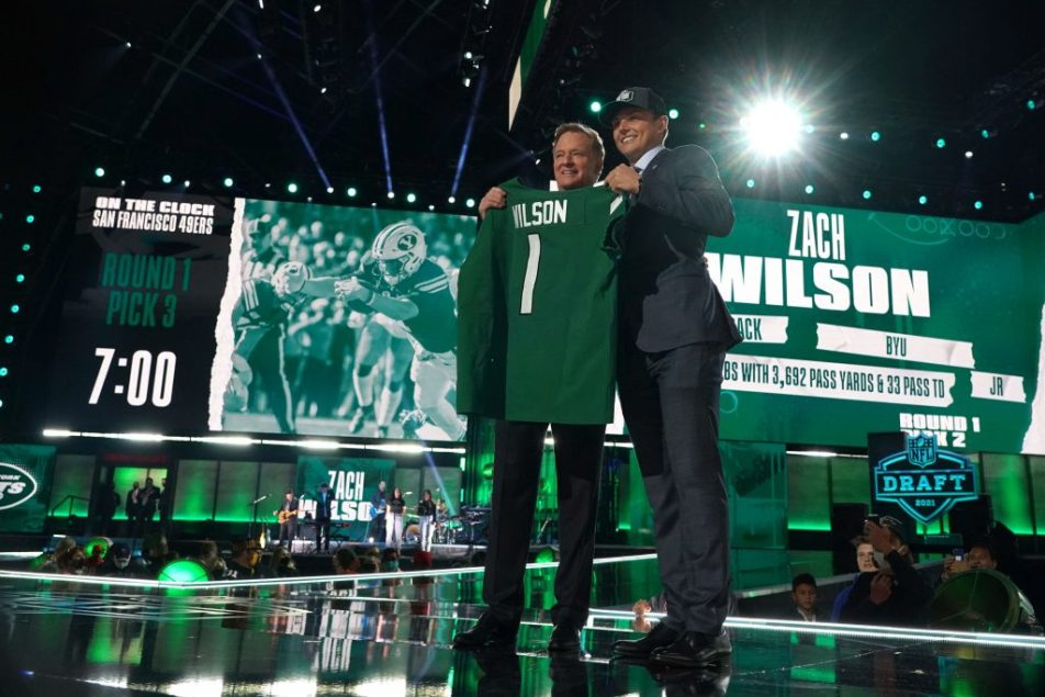 New York Jets doing their best to fail another young QB in Zach Wilson