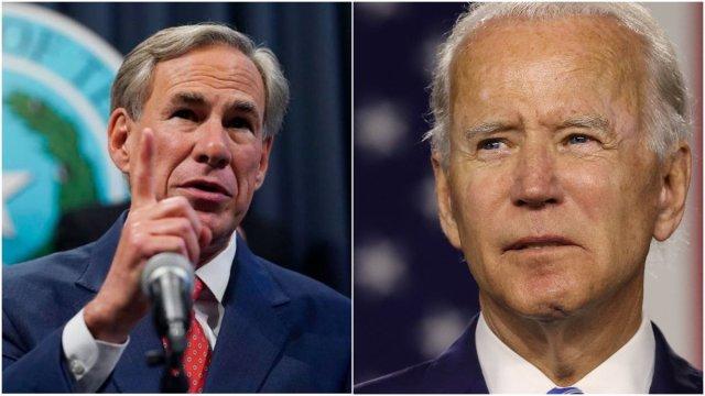 Biden takes aim at states blocking mask mandates, sets up Abbott for showdown
