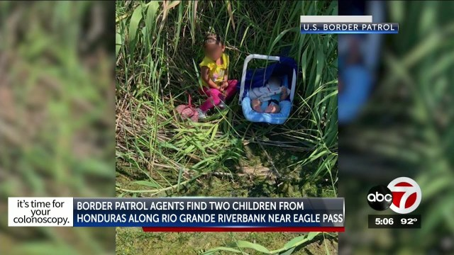 Border agents rescue toddler & baby from Rio Grande, find 29 migrants in Clint trailer