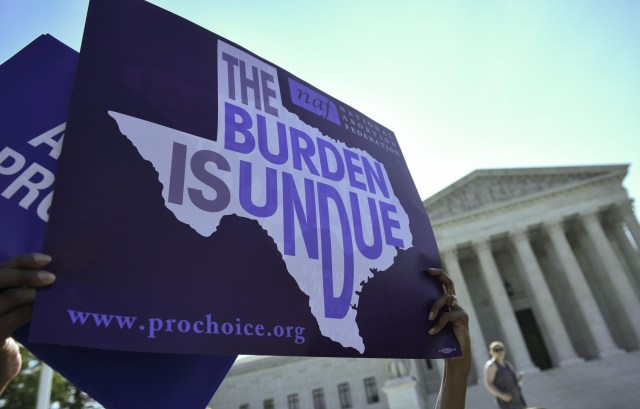 Divided Supreme Court leaves Texas abortion law in place