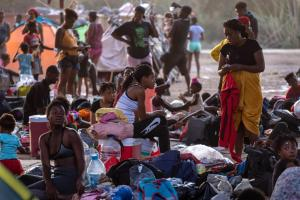 Last Haitian migrants depart Del Rio; 1,800 being processed in El Paso, 350 to stay at Annunciation House