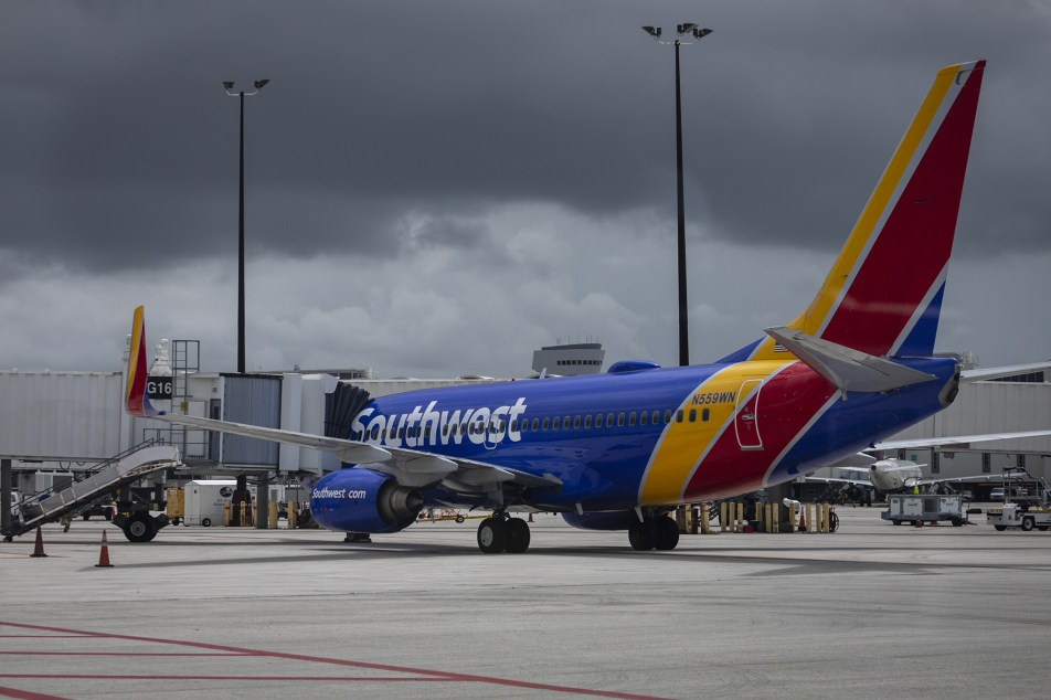The Delta variant of Covid-19 is weighing on Southwest Airlines' bottom line. The carrier said in a regulatory filing on Aug. 11 that customers this months have been booking fewer flights and are increasingly canceling the trips they've already booked.