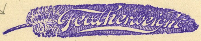 featherweight for trusses 1899