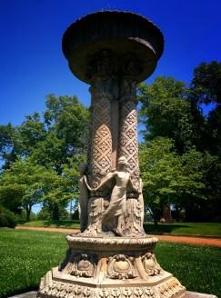 Oak Grove Cemetery pilar