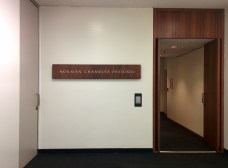Entryway to the Norman Chandler Pavilion
