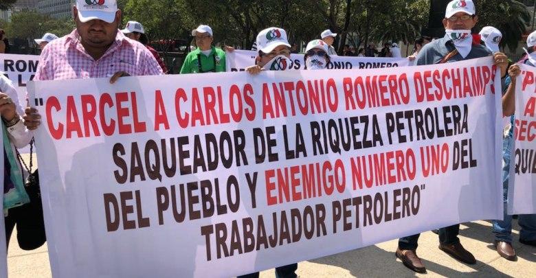 Photo of Petroleros exigen destitución de su líder
