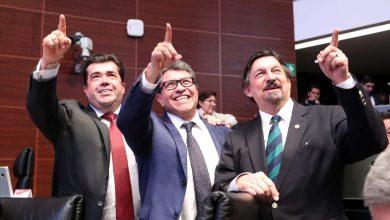 Photo of Pedro Haces llega al Senado y promete dupla con Napoleón