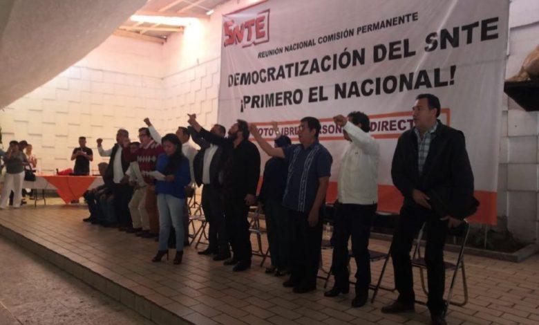 Photo of En SNTE arman frente contra Cepeda