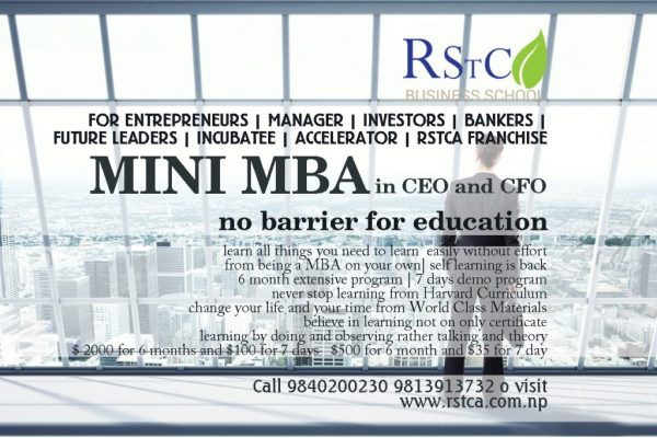 Mini MBA – RSTCA Education