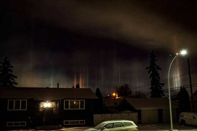 Northern Lights Edmonton Tonight