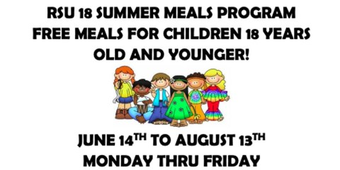 Change to summer meal pick up times
