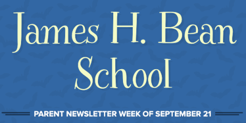 Parent Newsletter Week of September 21st