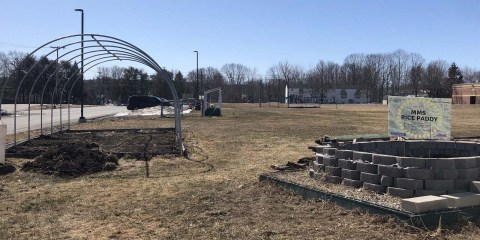 MMS Greenhouse Gets Ready to Grow