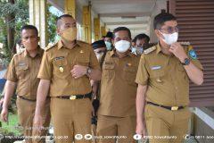 Wakil Gubernur Sumbar Audy Joinaldy Kunjungi RSUD Sawahlunto