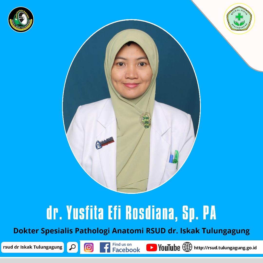 dr. YUSFITA EFI ROSDIANA, Sp.PA
