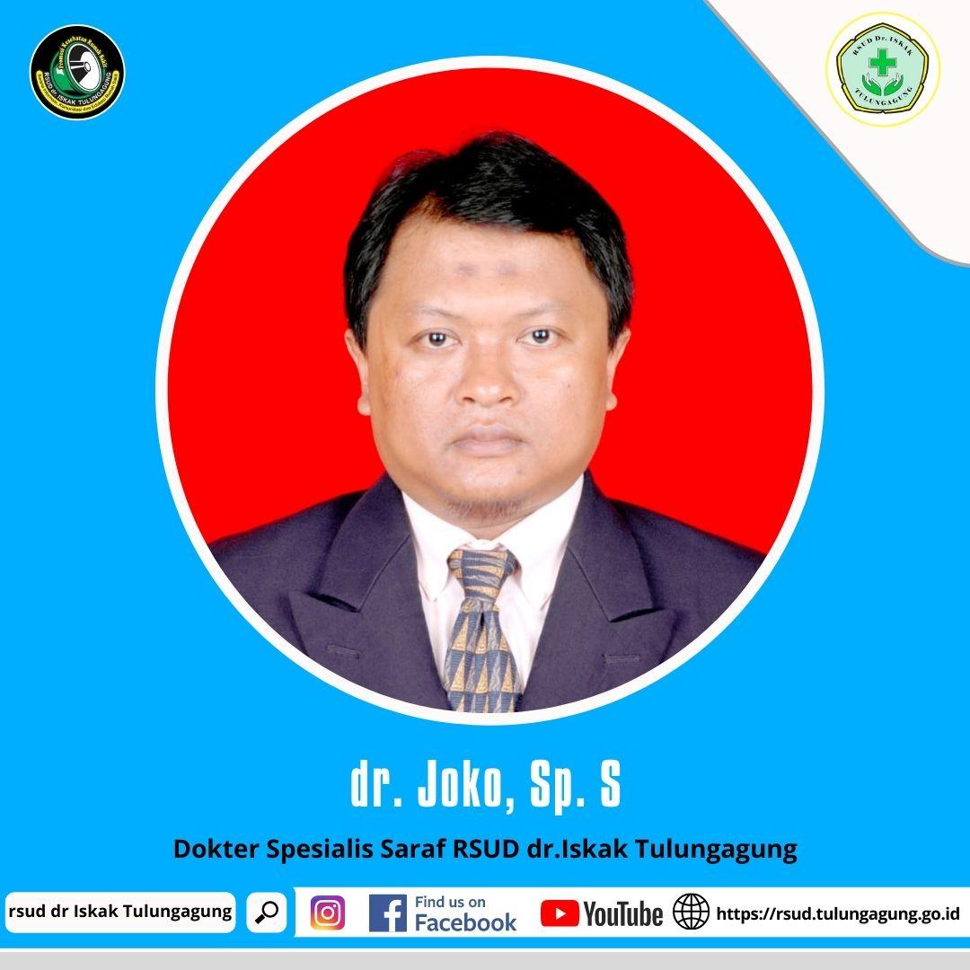 dr. JOKO, Sp. S