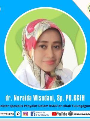 dr. NURAIDA WISUDANI, Sp. PD.KGEH