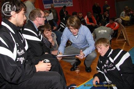 2.Bundesliga Nord: KSC Motor Jena gegen RSV Rotation Greiz endet 17:24