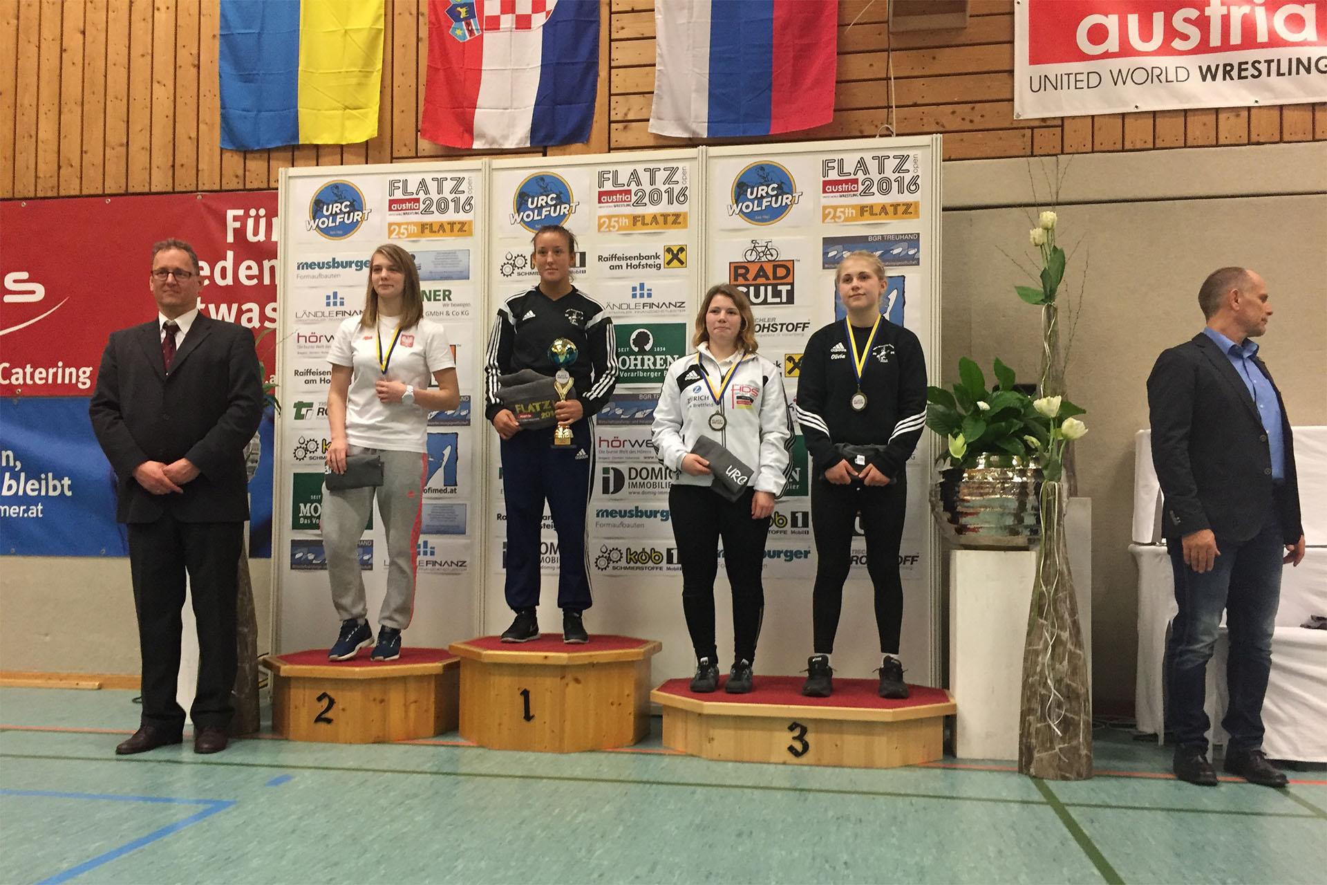 Ringen: Eyleen Sewina ist deutsche Vizemeisterin