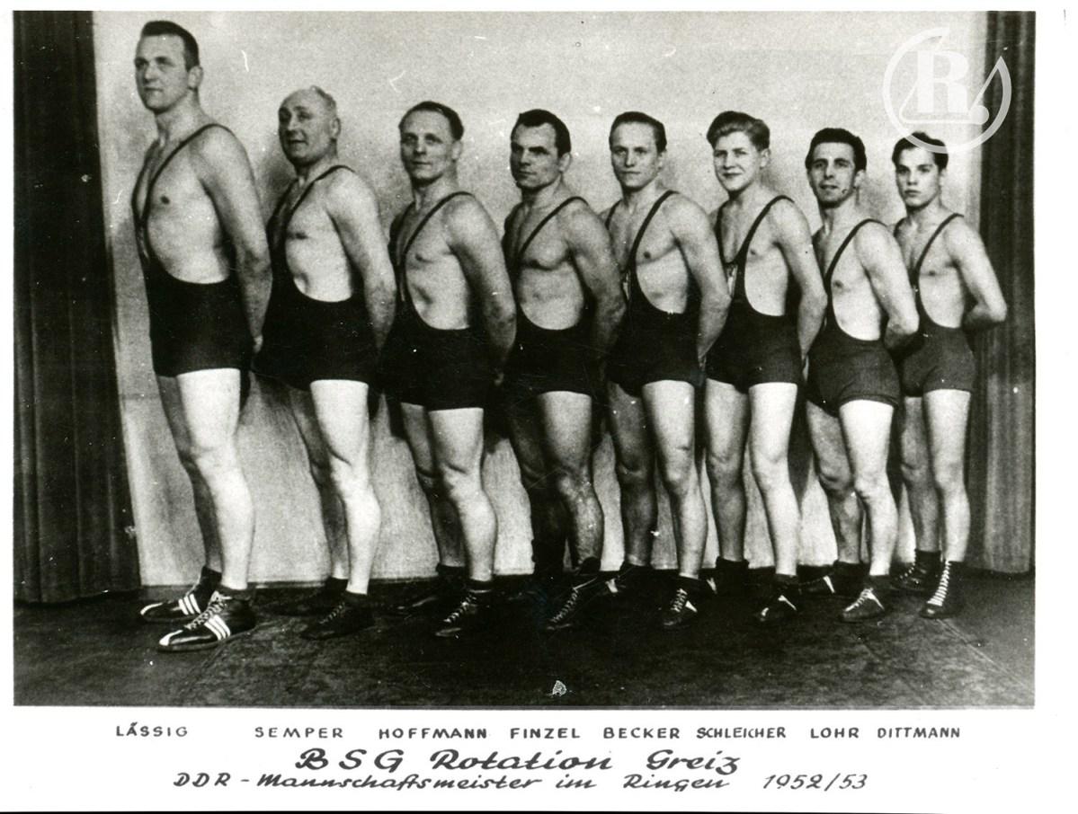Historie des Greizer Ringersportvereins Rotation