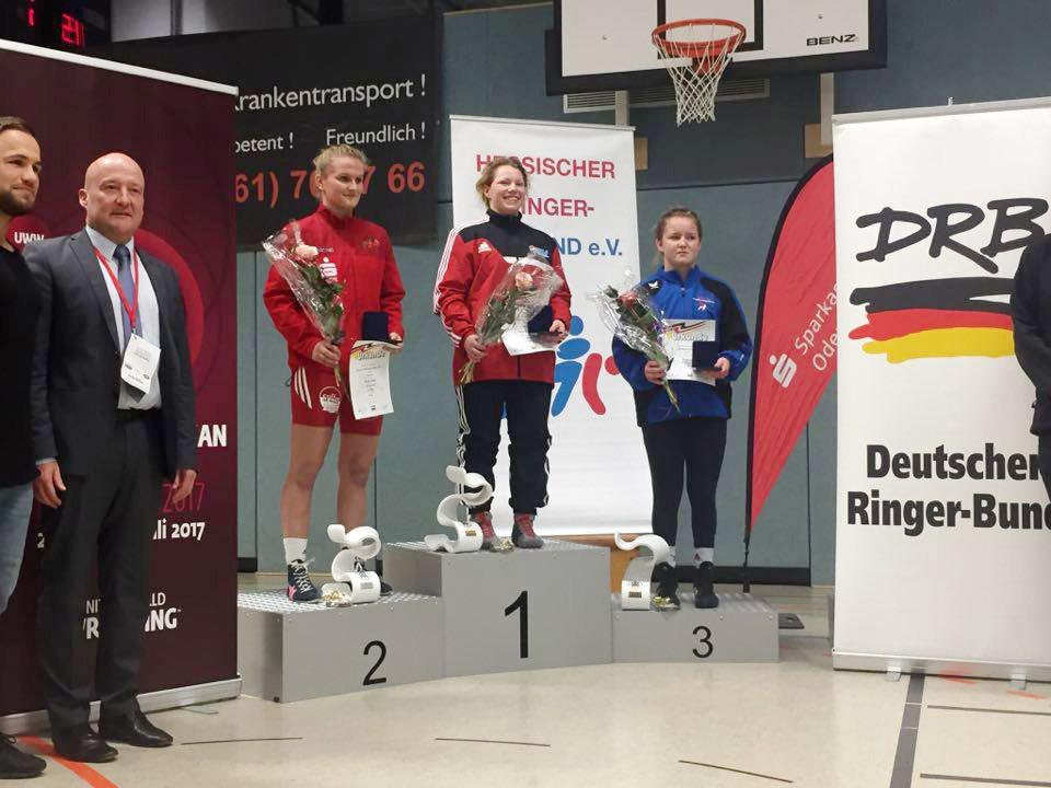 Eyleen Sewina ist deutsche Juniorenmeisterin