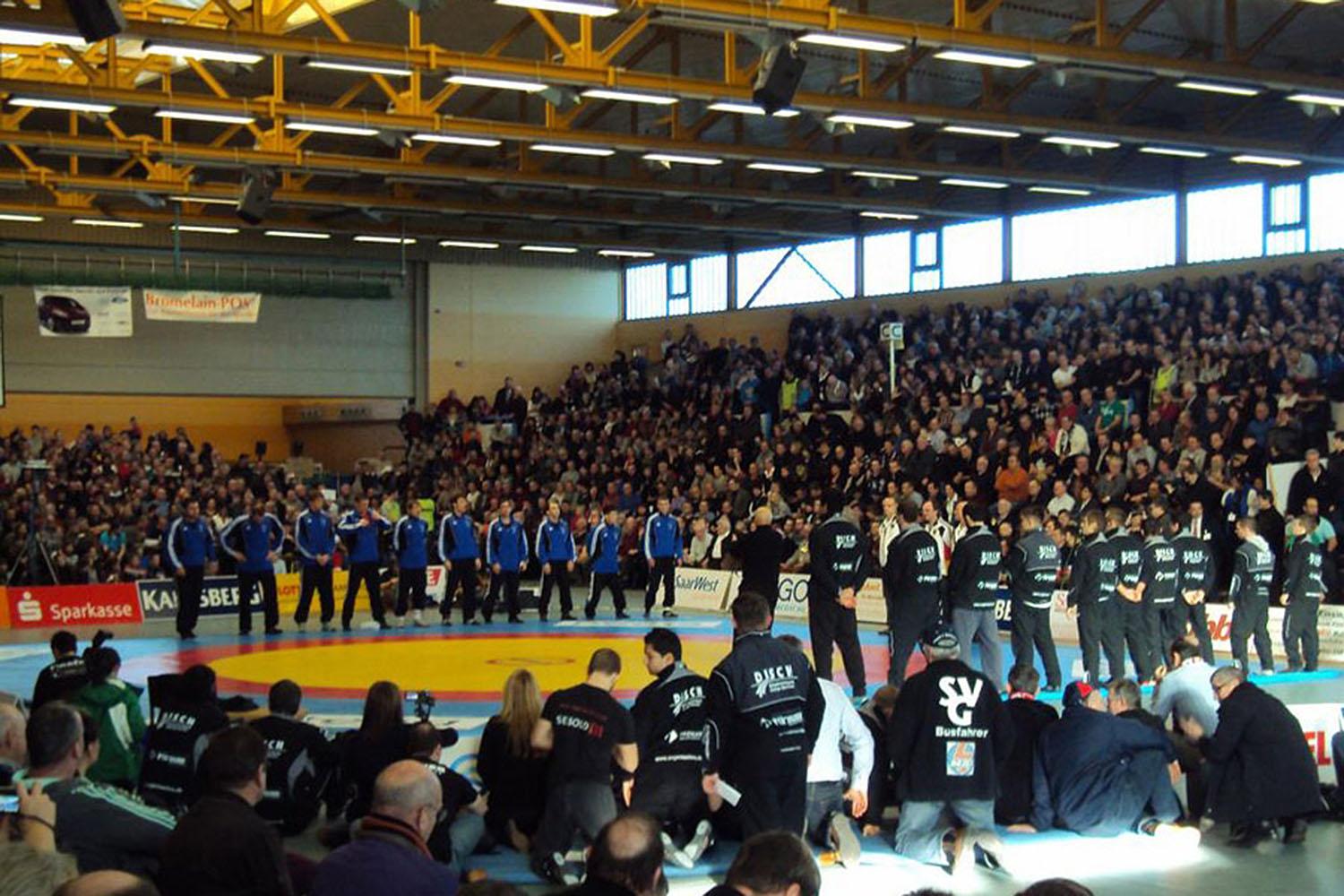 SV Germania Weingarten Deutscher Mannschaftsmeister 2011 im Ringen