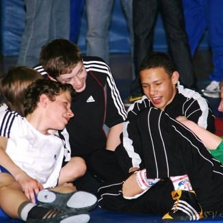 Mitteldeutschen Meisterschaften der Kadetten im Ringen