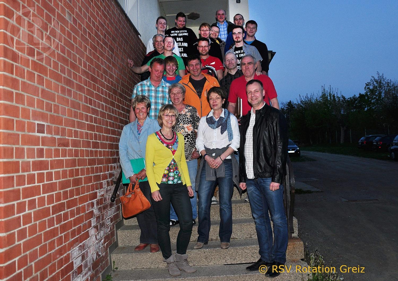 Jahreshauptversammlung des RSV Rotation Greiz
