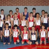 Thüringen-Meisterschaft der Ringer im Freistil im Jenaer Sportforum