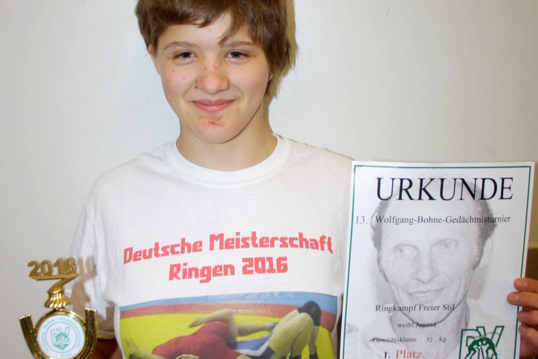 Greizer Nachwuchsringer siegen beim Thalheimer Turnier