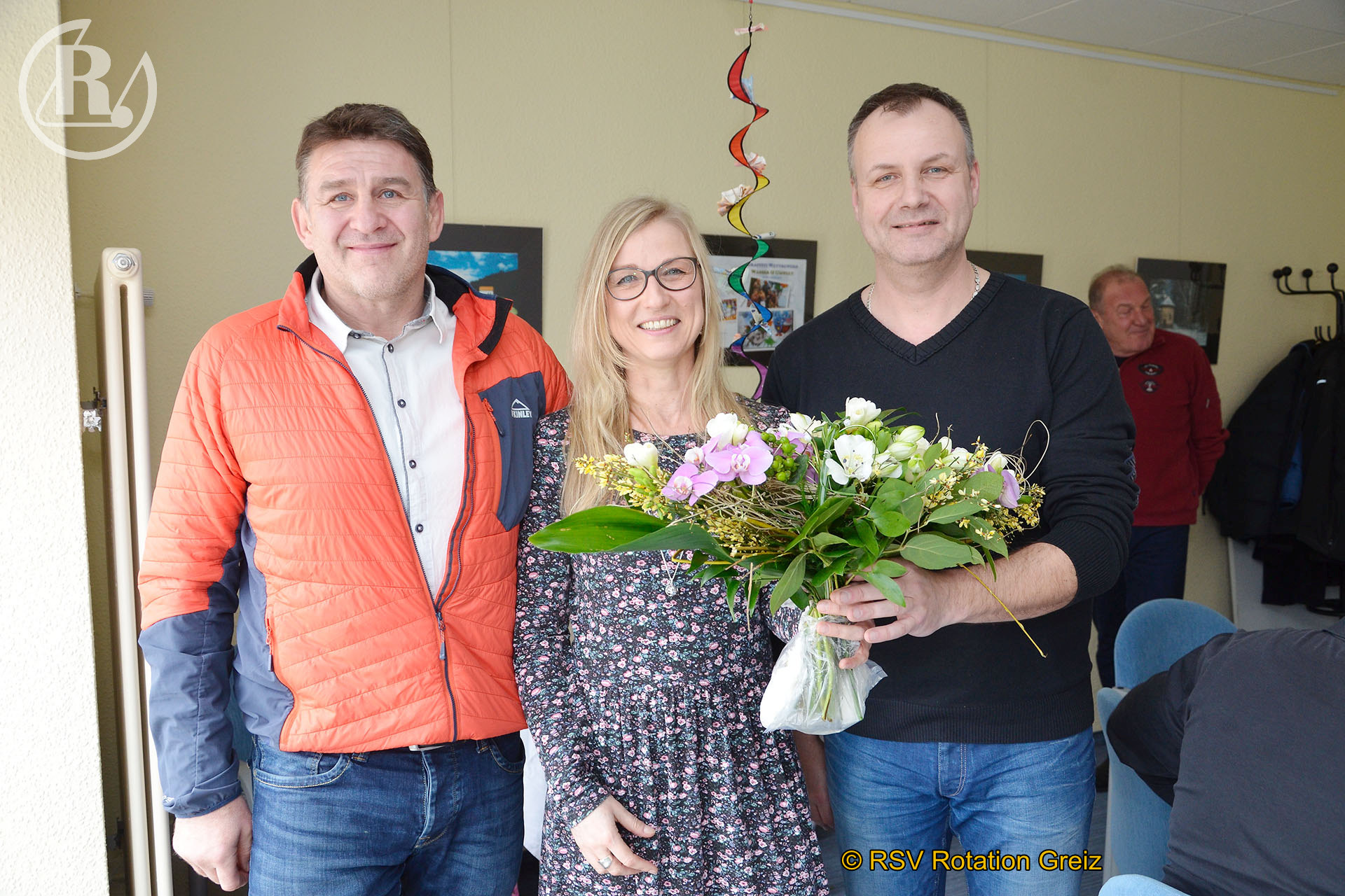 RSV Rotation Greiz: Glückwünsche zum 50. Geburtstag von Vorstandsmitglied Ines Watzek